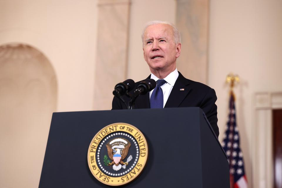 President Biden Delivers Remarks On Conflict In Middle East